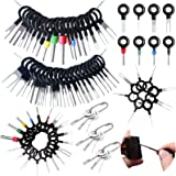 73pcs Terminal Removal Tool kit,Vignee Pins Terminals Puller Repair Removal Key Tools for Car,Pin Extractor Electrical Wiring