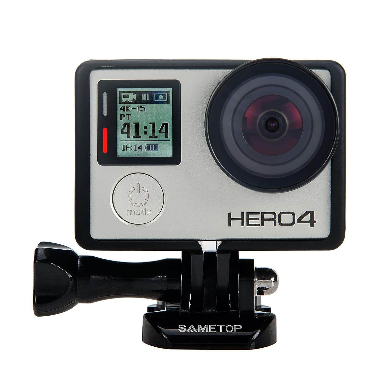 Sametop Klebehalterung Flache Gebogene Klebepad Helm Halterung Helmbefestigung aus 3M Kleber Kompatibel mit GoPro Hero 6, 5, 4, Session, 3 +, 3, 2, 1 Kameras