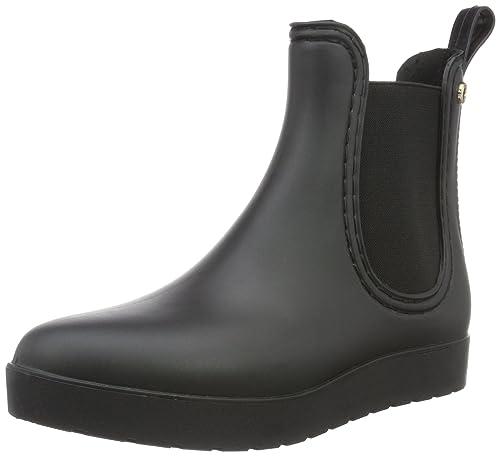 Pslana, Zapatillas de Estar por Casa para Mujer, Negro, 37 EU Kamoa