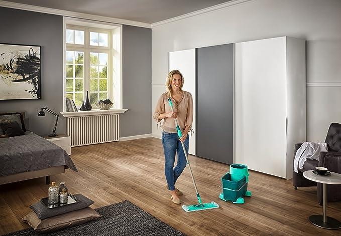 Amazon.com: Leifheit Mop Set with Clean Twist System Evo: Kitchen ...