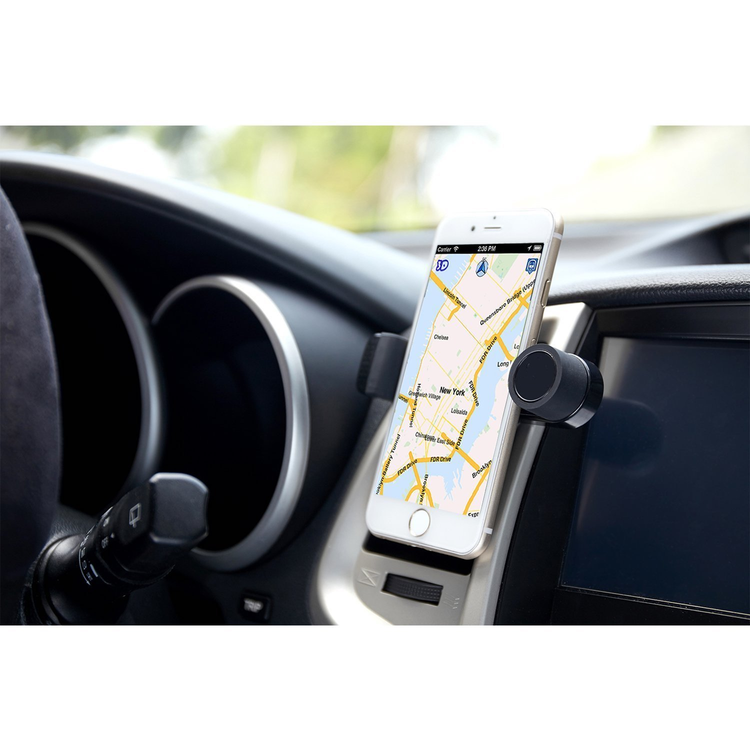 luxury car cell phone mount holder for air vents 360