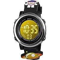 BIGMEDA Reloj Digital para Niños Niña, Luz Intermitente LED de 7 Colores Reloj de Pulsera Niña Multifunción, para Niños…