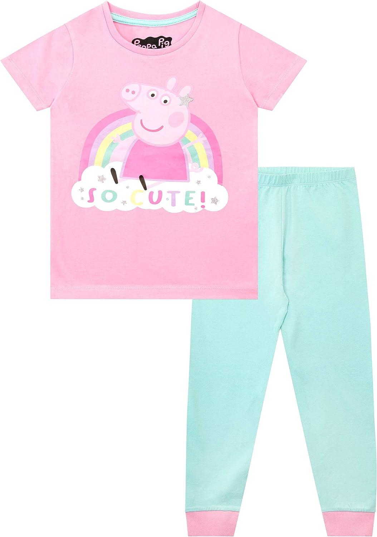 Peppa Pig Girls Pyjamas Pack of 2 Snuggle Fit