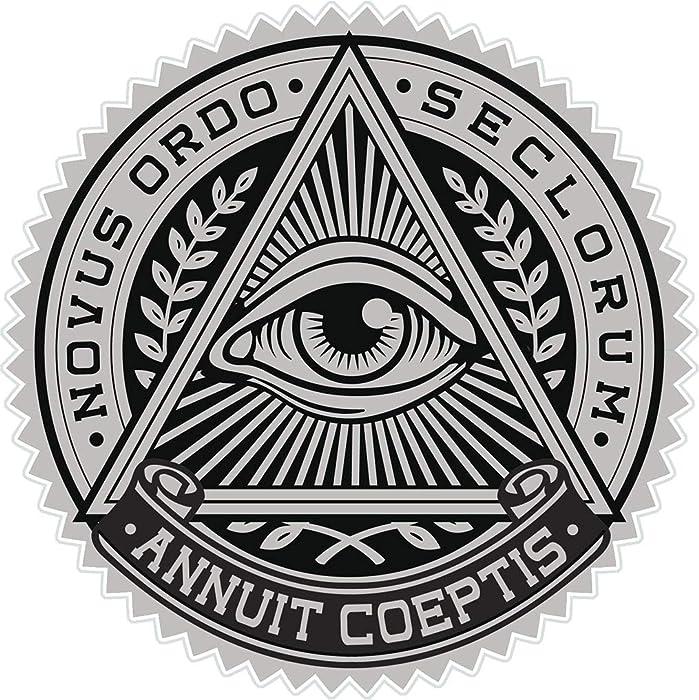 Top 10 All Seeing Eye Laptop Sticker