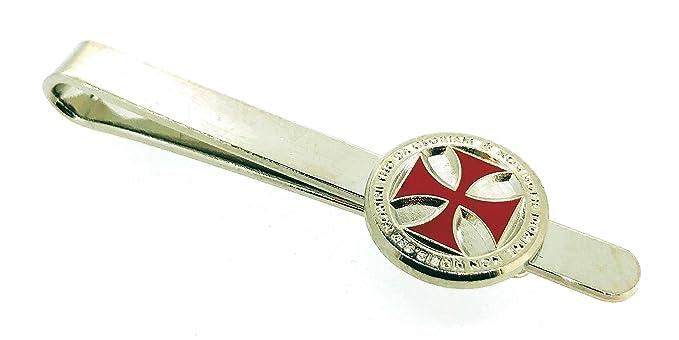 Gemelolandia Pasador de Corbata Cruz Templaria Non Nobis: Amazon ...