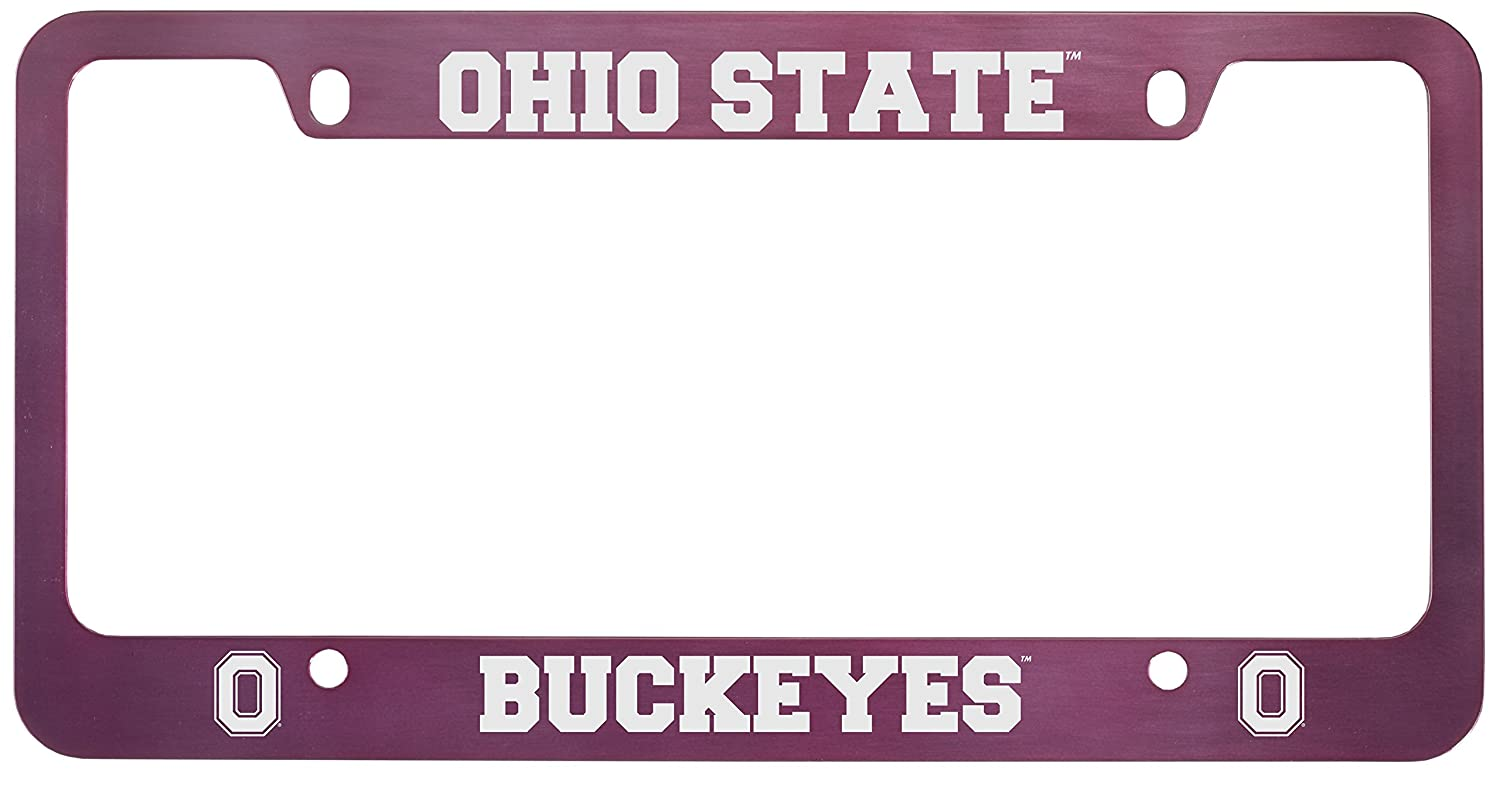 Outstanding Ohio State License Plate Frame Ornament - Picture Frame ...