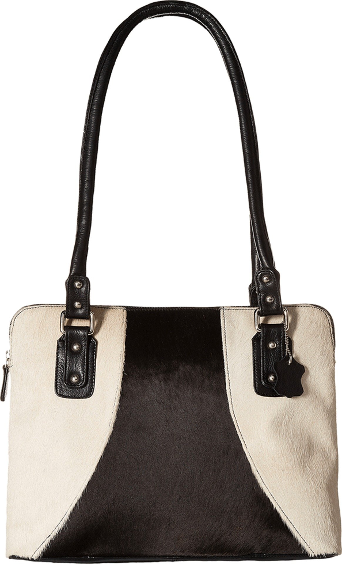 Scully Women's And White Hair-On-Hide Shoulder Bag Animal Prt One Size