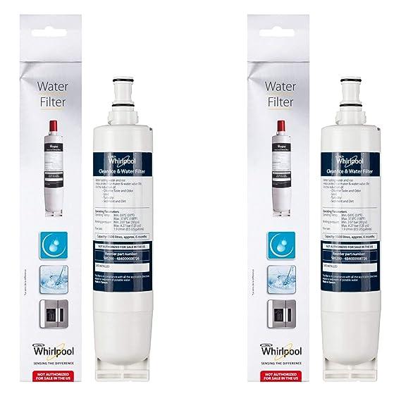 WPro Cartucho de filtro de agua para Maytag doble frigorífico ...