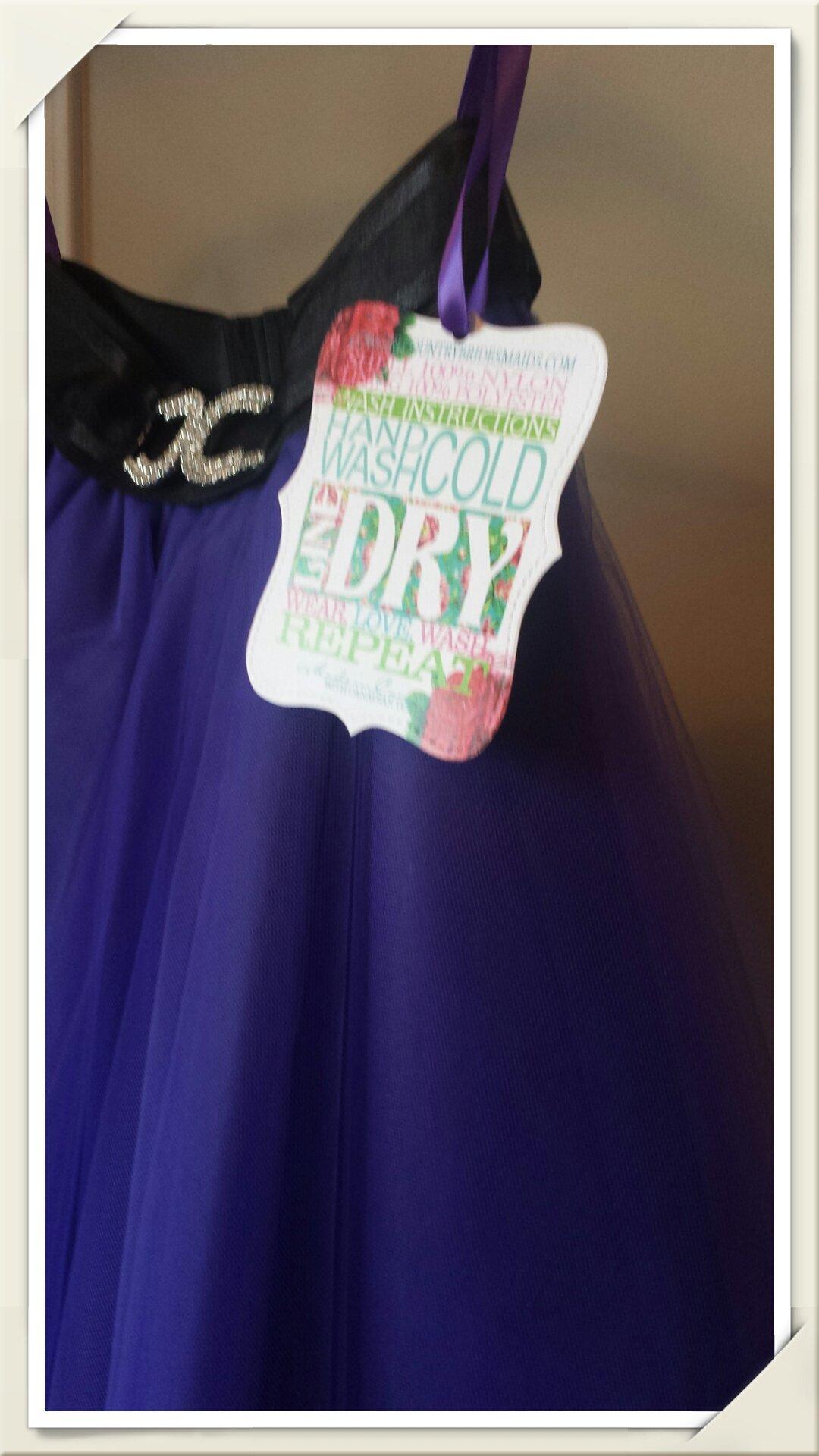 Women's Purple Tulle Skirt
