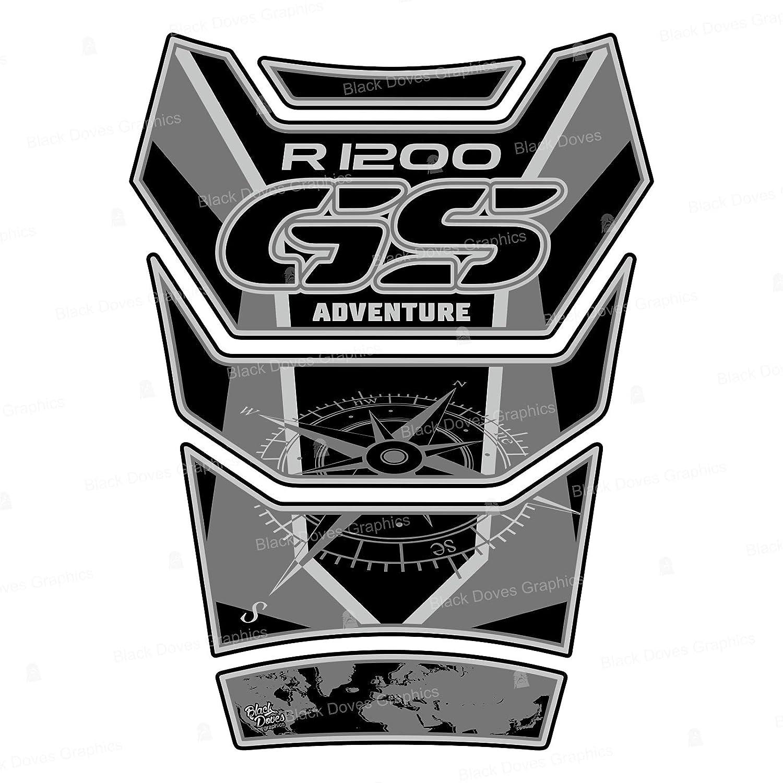 Protection de r/éservoir Compatible pour R1200 GS Adventure 2006-2013 Tank Pad R 1200 ADV 002-6