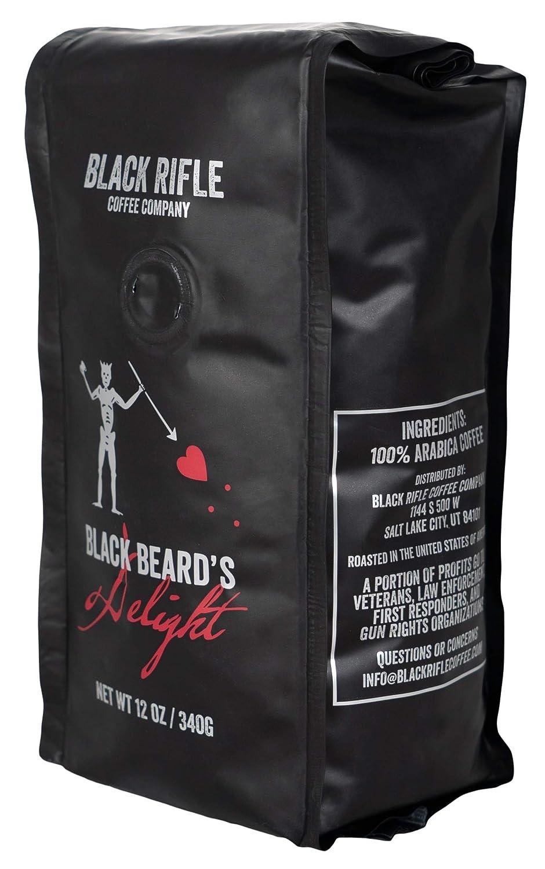 Black Rifle Coffee Company Blackbeard's Delight Dark Roast Ground Coffee, 12 Ounce Bag