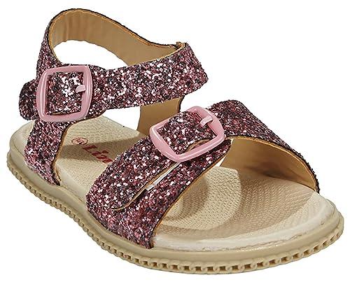 3d5d4e11e JJF Shoes - Sandalias para niñas bebés tipo Gladiador