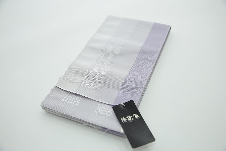 半巾帯(撫松庵絹100%締めやすいお洒落浴衣着物半幅帯319) B07835FJ1S