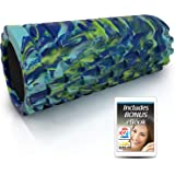 321 STRONG Foam Roller - Medium Density Deep Tissue Massager for Muscle Massage and Myofascial Trigger Point Release, with 4K