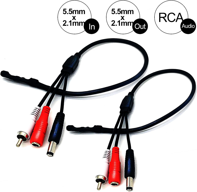 New CCTV Security Camera Mini Microphone Mic Audio RCA output