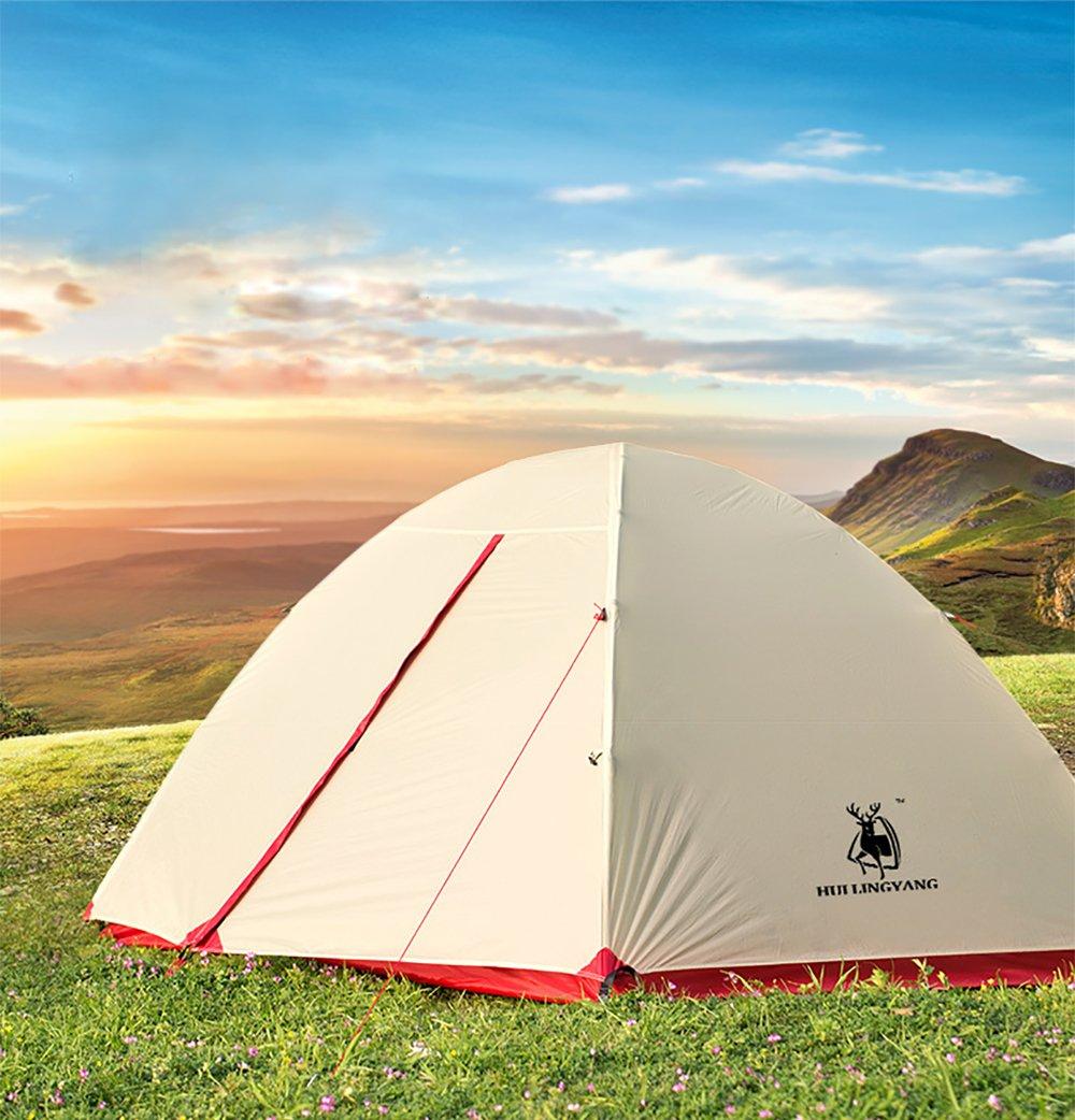 Camping imperméable homme dôme tente 1 2 personnes super léger unisexe extérieure randonnée sac à dos en aluminium pôle prévenir tempête idéale tentes haut de gamme pour le camping trekkin
