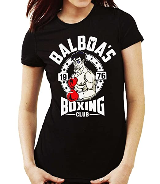 35mm - Camiseta Hombre Balboa's 1976 Boxing Club Rocky