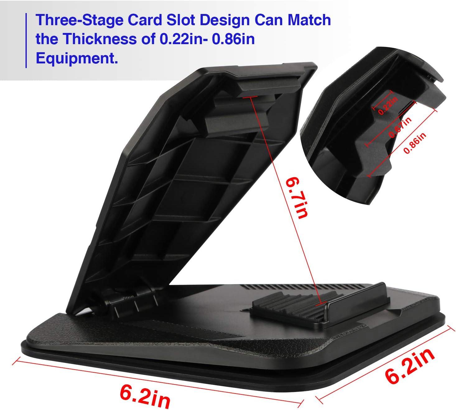 7 Cell Phone Holder for Car,Cell Phone Holder for Car Dashboard,Car Cell Phone Holder for iPhone Xs Max XR X 8 8 Samsung Galaxy Note10 9 S10 S9 S8 Garmin Nuvi,Tomtom,Via GO,iPad Mini.