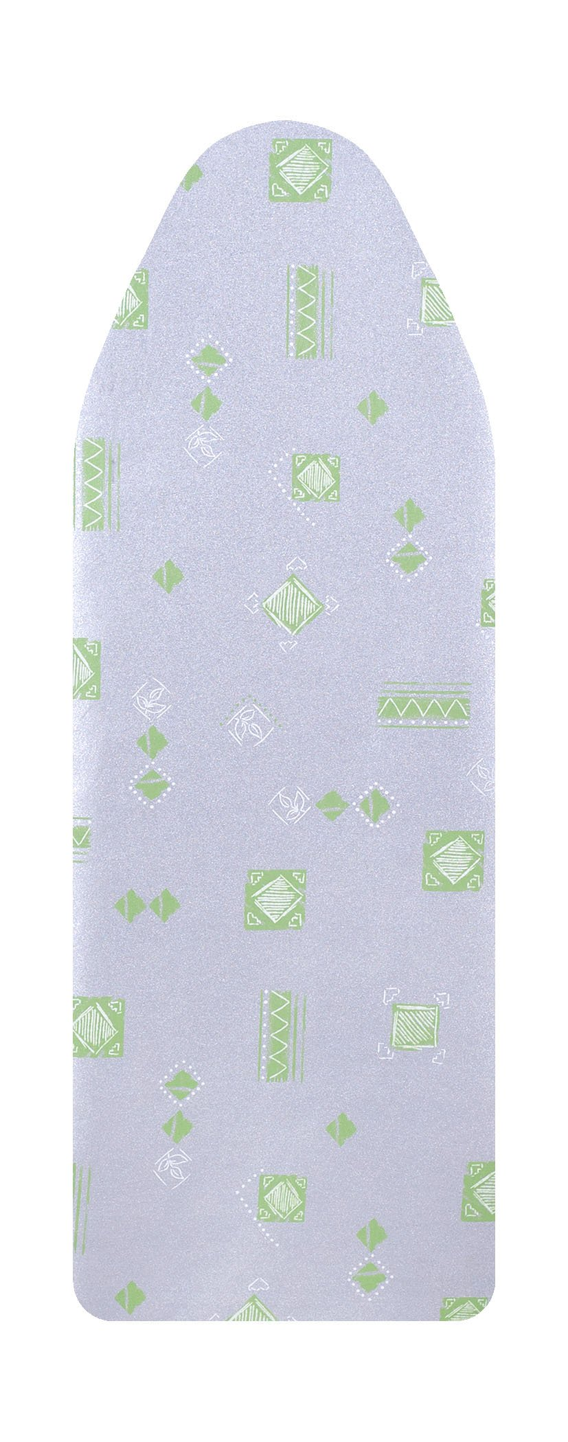 VieveMar Ironing Board Cover, SAVE 50% IRONING TIME! EASY FIT with DrawString, NO DYE TRANSFER! 3 DURABLE LAYERS with Cotton, Aluminum and Teflon, Heat Reflective, Fits Wide Boards 18'' x 49'' (Green)