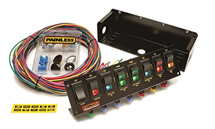 amazon com painless wiring 50303 race car 8 switch panel automotive rh amazon com