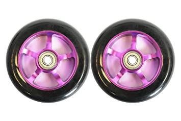 SCSK8 Metal Core Patinete Ruedas para Scooter Razor (100 mm ...