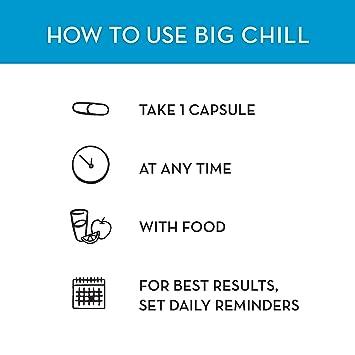 Amazon.com: HUM Nutrition Big Chill apoyo calmante, 60 ...