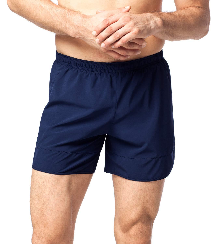 aabf814a2b5a8 LAPASA Pantalón Corto de Deporte para Hombre - Versión Running Corta y  Larga product image