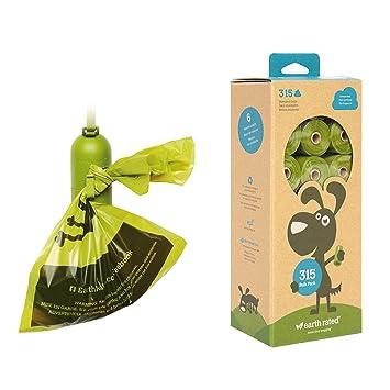 Earth - Bolsas de Recambio biodegradables sin Perfume, 21 ...