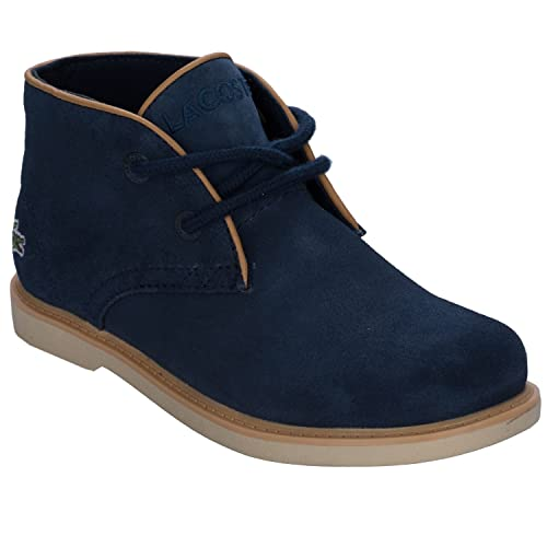 58609884dbf2 Lacoste Boys Children Boys Sherbrooke Boots in Navy - 13 Child ...