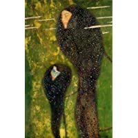 Canvas Print Reproduction - 36X36 Inch The Kiss by Gustav Klimt - Symbolist Figurative Paintings Wall Art