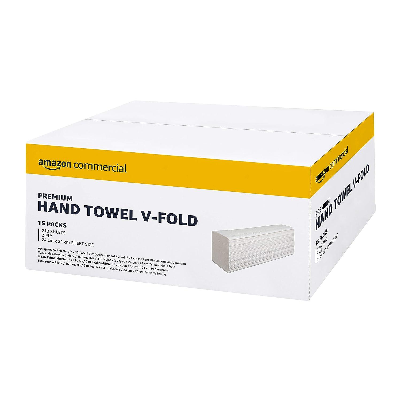 pliage en V Commercial Lot de 15 rouleaux de papier essuie-mains 3/150 feuilles