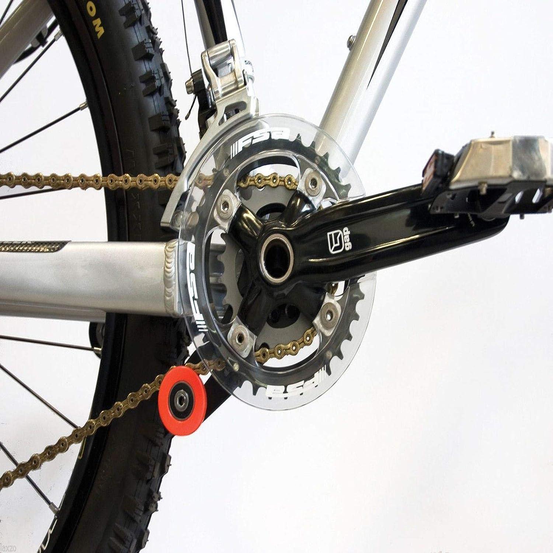 Laxzo® Acor MTB Bike DH Downhill Chain Guide Tensioner Double ...