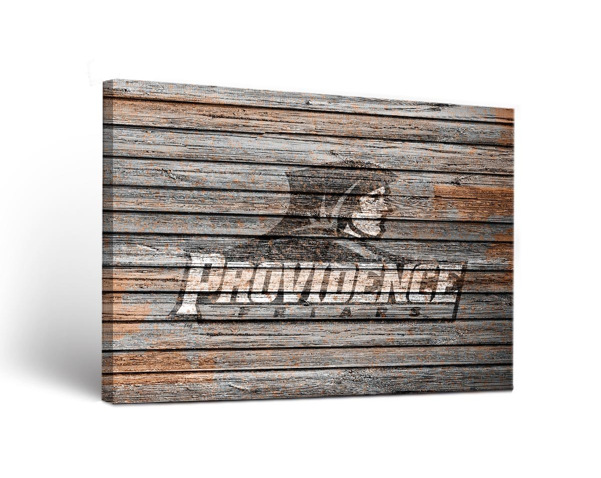 Providence College Friars Canvas Wall Art Weathered Version (36x48)