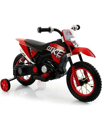 LT876 Motocicleta eléctrica infantil MOTO CROSS BABY ruedas inflables - Rojo