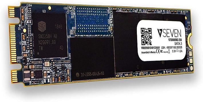 V7 S6000 3D NAND Internal SSD (250 GB, SATA III, 6 GB/S, 2280 M.2 ...