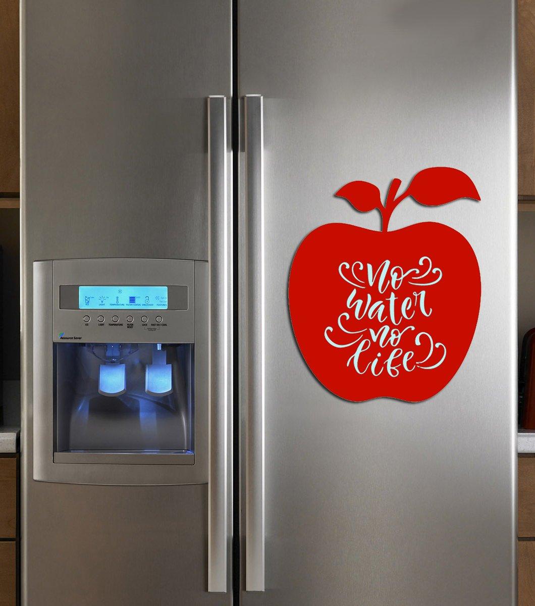 Vinile marcatore lavagna magnetica note Apple (per frigorifero Series) per casa, scuola e ufficio, 29,7cm × 41,9cm (40cm × 30cm) by Becrea Yellow OstOrg Ltd.