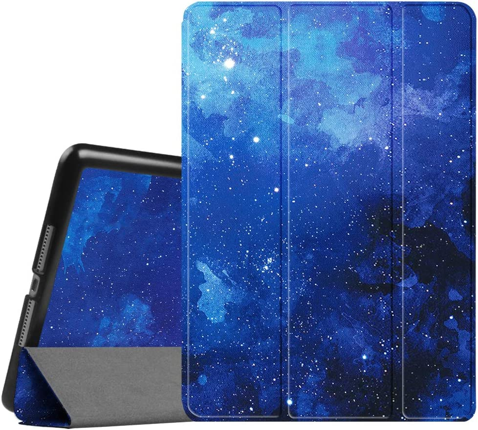 Fintie Case for iPad 9.7 2018/2017 - Lightweight Slim Shell Standing Cover with Auto Wake/Sleep Feature for iPad 6th / 5th Gen 9.7 Inch Tablet, Starry Sky
