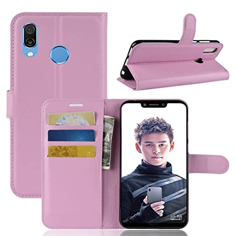Huawei Honor Play Funda Faux Cuero Billetera Funda para ...