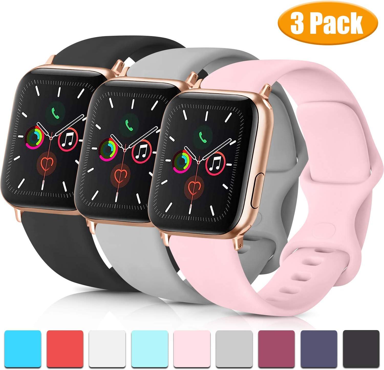 Mallas Compatibles,apple Watch Band 38mm 40mm 42mm.3un(ZHK