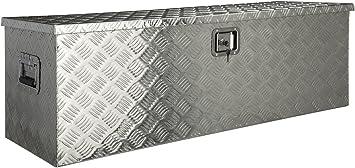 Caja de herramientas de aluminio, aprox. 180 L: Amazon.es ...