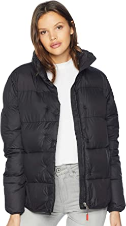 fcaae2c28415b Hunter Women's Original Puffer Jacket Black Medium at Amazon Women's ...