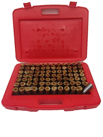 """4101-0045 PRO-SERIES 82 PIECE .751-.832/"""" PIN GAGE SET WITH CERTIFICATE"""