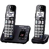 Panasonic KX-TGE232B Cordless Phone, 2 Handsets