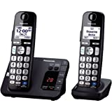 Amazon Price History for:Panasonic KX-TGE232B Cordless Phone, 2 Handsets