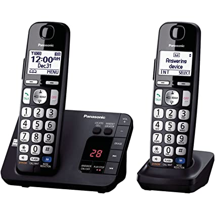 439b2b70fb4 Amazon.com   Panasonic KX-TGE232B Cordless Phone