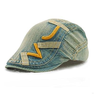 6a219b00edf SLBGADIEME Newsboy Caps Camouflage Ivy Hat Acrylic for Men Women Unisex  Summer Cabbie Hat Fashion Cap