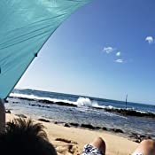 Amazon Com Wolfwise Upf 50 Easy Pop Up 3 4 Person Beach
