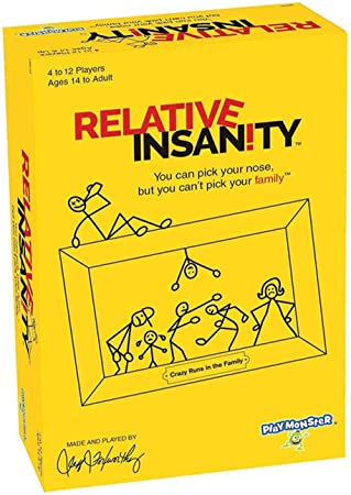 Weiming Crazy Party Card Games Family Party Juego Interactivo Relative Insanity Board Game: Amazon.es: Hogar