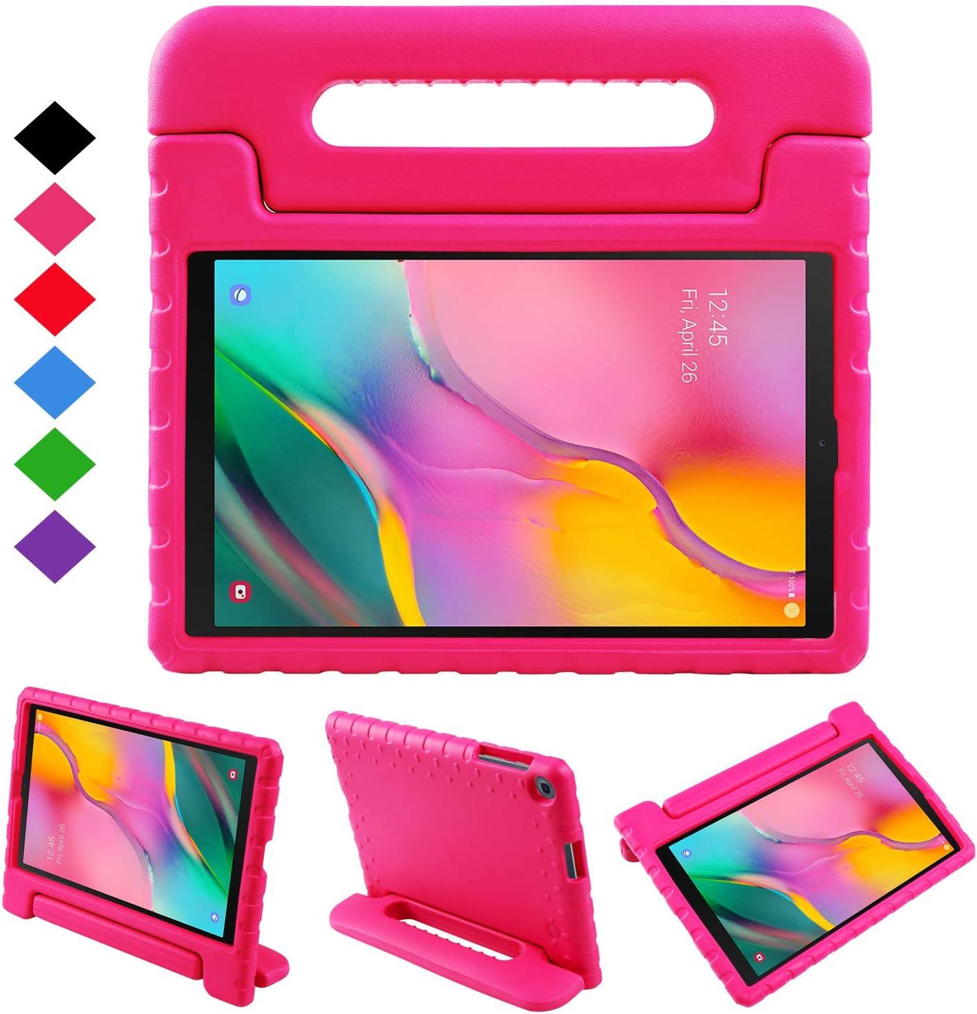 NEWSTYLE Funda para Samsung Galaxy Tab A 10.1 2019,Ligero y Super Protective Funda diseñar Especialmente para los niños para Galaxy Tab A 10.1 2019 SM-T510/ T515 (Rosa): Amazon.es: Electrónica