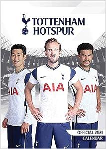 Official Tottenham Hotspur (Premier League) SPURS 2021 Soccer Calendar (A3 420mm x 297mm)